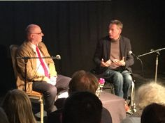 Local thriller writer and broadcaster Simon Berthon talks with fellow journalist and writer Frank Gardner at 2019 Clapham Book Festival. Book Festival, Vulture, Thriller, Writer, Concert, Books, Libros, Writers, Book