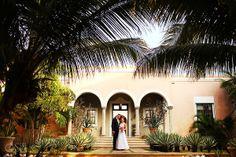 Mexico Destination Wedding Riviera Maya Hacienda del Mar in Puerto Aventuras. Great alternative to an all inclusive hotel.  Mexico wedding photographers Del Sol Photography