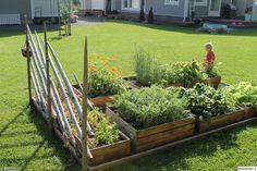 Hage inspirasjon Small Garden Arbour, Backyard Garden Landscape, Garden Arbor, Garden Boxes, Terrace Garden, Backyard Landscaping, Garden Cottage, Home And Garden, Persian Garden
