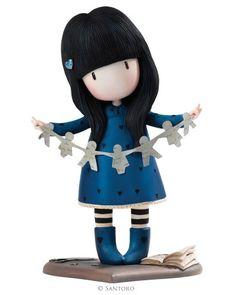 "I found my family in a book, Gorjuss 9"" Figurine from Santoro"