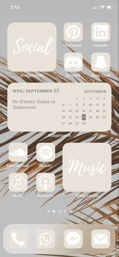 Iphone Design, Ios Design, App Icon Design, Iphone Home Screen Layout, Iphone App Layout, Iphone Wallpaper App, Aesthetic Iphone Wallpaper, Message Iphone, Life Hacks Iphone