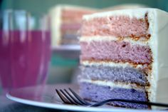I clearly have to make a damn ombre cake