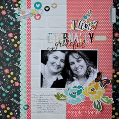Layout: I AM Eternally Blessed  used **Simple Stories - I AM