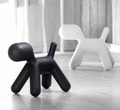 Puppy. Abstrakti muovinen koira. Design Eero Aarnio Bedroom Black, Scandinavian Design, Kids Bedroom, Puppies, Black And White, Cool Stuff, Interior, Finland, Inspiration