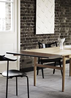 Dining table by Hans J Wegner - CH327 - Carl Hansen & Søn