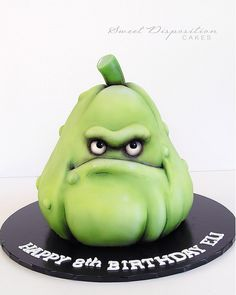 Plants vs. Zombies - Squash cake | Sweet Disposition Cakes
