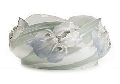 KARL LINDSTRÖM, porcelain bowl, early 1900s