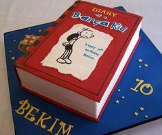 Diary of a Wimpy Kid cake | by cakespace - Beth (Chantilly Cake Designs)