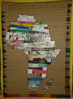 Africa Outline, Paper Crafts, Toys, Activity Toys, Papercraft, Paper Crafting, Toy, Paper Craft