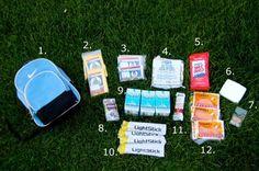 car safety kit Emergency car safety kit, you need one