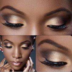 maquiagem-para-pele-negra-com-dourado