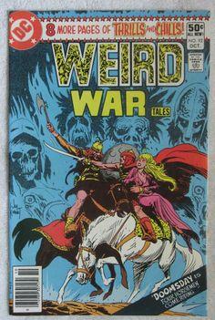 Weird War Tales #7 (Sep-Oct 1972, DC) VF 8.0
