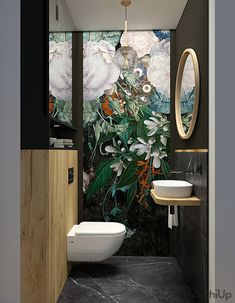 Bathroom Design Inspiration, Bad Inspiration, Bathroom Interior Design, Wc Design, Loft Design, Wc Bathroom, Small Bathroom, Old Fashioned House, Powder Room Decor
