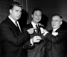 Gene Roddenberry, DeForest Kelley and Max Ehrlich.