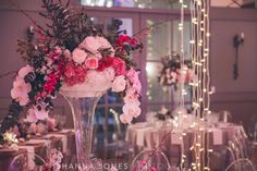 Marelize & Helgard winelands wedding - the aleit group Winelands wedding. Event Management Company, Hanging Lights, Event Planning, South Africa, Wedding Reception, Glass Vase, Wedding Flowers, Table Decorations, Group