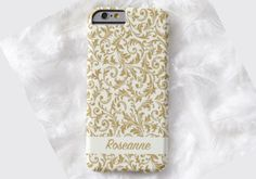 GOLD Swirl Design Cell Phone Case, iPhone 6 case, Note 4 cell case, cell phone case, iPhone 6 plus phone case, iPhone 6 plus case, S6 #303 by DesignsbyLiv15 on Etsy