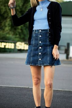New Season Thoughts: Inspiration or a pressure? #style #denim #blue