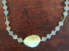 One of a kind necklace built around an by LaSireneDesigns on Etsy