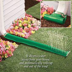 Durable Deluxe PVC Downspout Rain Water Drain Extender Diverts 7.5 x 46.5 Inches #DrainExtender #Durable #Deluxe #PVC #Downspout #RainWater #RainwaterDrain #Extender #Drain #Outdoor #Lawn #Yard #Garden