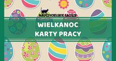 wielkanoc karty pracy dla dzieci kolorowanki Easter, Cement, Blog, Easter Activities, Blogging, Concrete