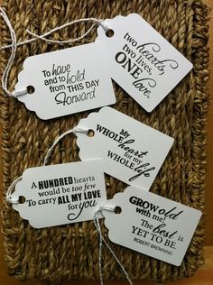 10 Romantic Vintage Shabby Chic Style Gift Tags  Weddings Favours Decorations