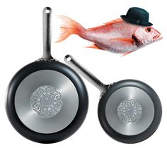 marcel wanders: dressed cookware for alessi. altogether unnecessary. which is why i'll probably go and buy it.