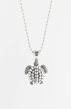 Lagos 'Rare Wonders - Turtle' Long Talisman Necklace available at #Nordstrom//Ever since I went to the aquarium in Atlanta I've been in love with turtles.