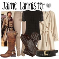 Jaime Lannister -- Game of Thrones by evil-laugh on Polyvore featuring Oasis, H&M, ONLY, Steve Madden, Vince Camuto, GameOfThrones, got, HouseLannister, jaimelannister and kingslayer