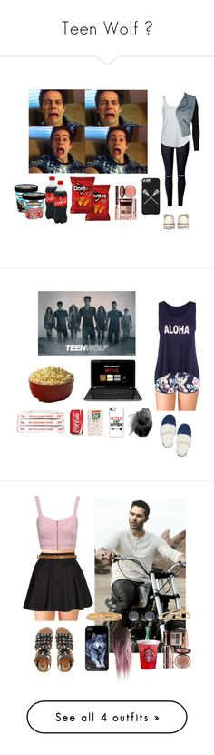 """""""Teen Wolf 😍"""" by laurynha ❤ liked on Polyvore featuring Converse, Charlotte Tilbury, Alexander Wang, Forever 21, Accessorize, Victoria's Secret, Casetify, Jane Norman, Boohoo and River Island"""