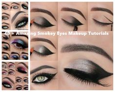 40 + Amazing Smokey Eyes Makeup Tutorials
