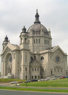 The Cathedral of St. Paul.  St. Paul, MINNESOTA.  My grand parents and several family members have been married here.