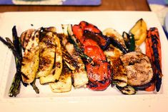 Italian Grilled Vegetables with Sun-Dried Tomato Vinaigrette | Bitches Who Brunch