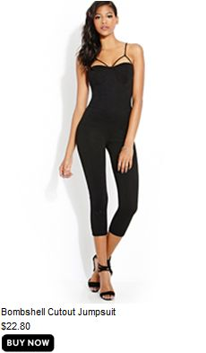 b3f3fc85815e Bombshell Cutoff Jumpsuit All Black Everything