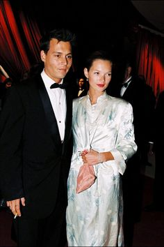 13 Rarely Seen Photos of Johnny Depp and Kate Moss  - ELLE.com
