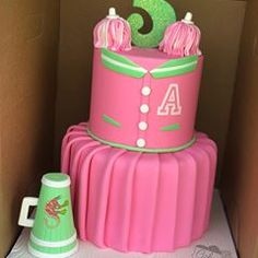 Cake delivery to Alyssa's birthday celebration 📣 Cheerleader Cakes, Cheerleading Birthday Cakes, Zombie Cheerleader, Zombie Birthday Cakes, Zombie Birthday Parties, Zombie Party, Birthday Celebration, Zombie Disney, Girl 2nd Birthday