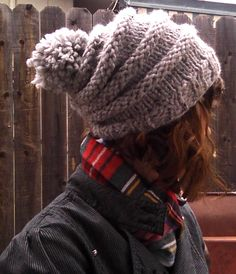 A simple, cute, extremely warm hat for winter weather, which will only take a couple of hours to knit!   There is an optional short row shap...