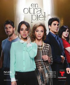 En otra piel (Lit: In Another Skin / English: Part of Me) is a Spanish-language telenovela produced by United States and México-based television network Telemundo Studios, Miami. Best Young Actors, Female Villains, Hippie Party, Me Tv, Movies Showing, Actors & Actresses, Tv Series, Tv Shows, Romance Novels