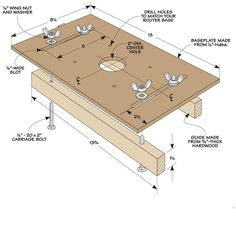 Router Jig for Perfect Mortises