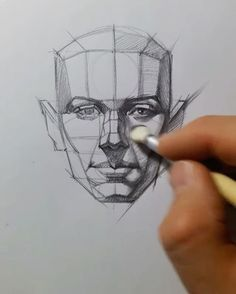Follow us! @art_daily How to draw a face✍️️ Tag a friend and follow us! @art_daily By @edizkan