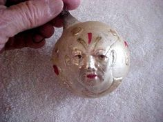 ANTIQUE GLASS CHRISTMAS ORNAMENT-SHOWING CLOWNS  | Collectibles, Holiday & Seasonal, Christmas: Vintage (Pre-1946) | eBay!
