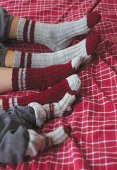 Lumberjack Sock Pattern by Tin Can Knits