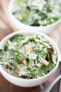 Turkey Bacon And Power Greens Caesar Salad | GI 365