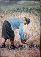ceifa (pintor joao viola) Tags: harvest ceifa joaoviola