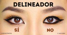 Cómo aplicar eldelineador según laforma detus ojos