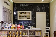 a deli selected gourmet products store by Kallia Brokou, Rhodes Island – Greece store design