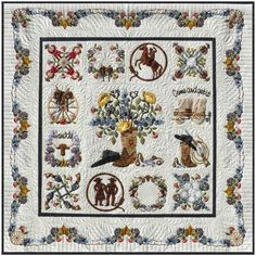 Happy Trails Album Quilt