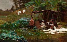 AS LAVADEIRAS - OST - 70 x 110 cm - 1891 - COLEÇÃO PARTICULAR