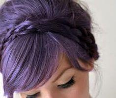 lavender hair - perfect shade!