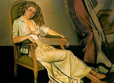 The White Skirt - Balthus, Balthasar (French, 1908 - Fine Art Reproductions, Oil Painting Reproductions - Art for Sale at Galerie Dada Pierre Bonnard, Figure Painting, Painting & Drawing, Auguste Herbin, Maurice Utrillo, Tate Gallery, Artist Gallery, John Piper, Magic Realism