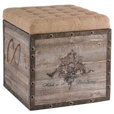 Aidan Gray Furniture Storage Cube AGF140A54